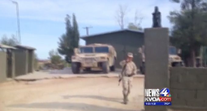 Mexican Army Shooting Americans On American Soil