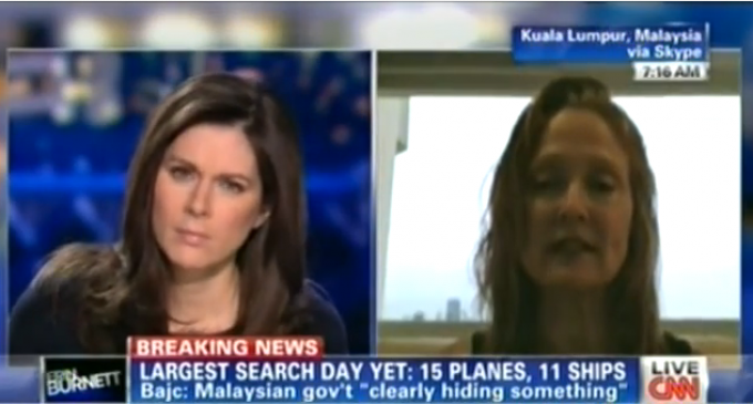 Passenger's Girlfriend: We've Got Reports Plane Was Accompanied By Fighter Jets