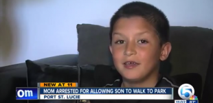 Mom Arrested For Allowing Son To Walk To The Park