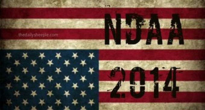 NDAA 2014: Gov't Fast-Tracks And Expands Unconsitutional Law