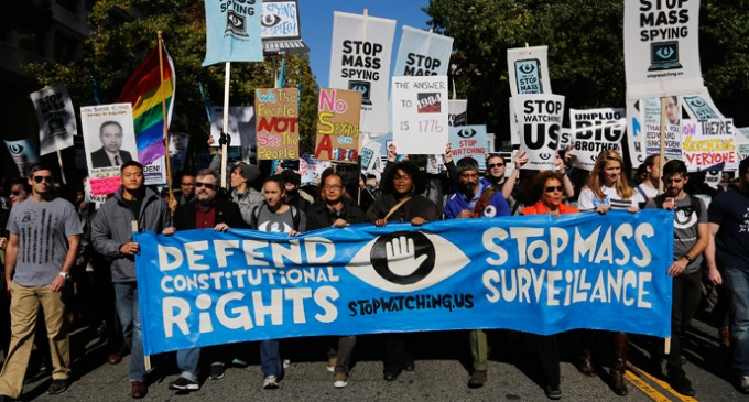 Thousand March On Washington Today In Protest Of NSA Spying