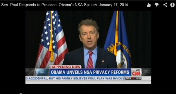 Obama: The NSA Is Just Like Paul Revere
