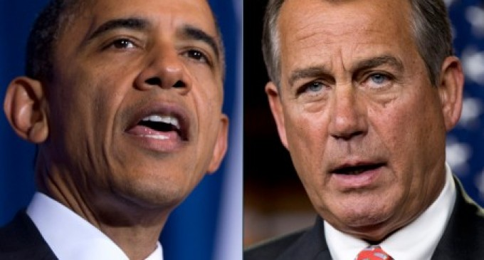 Obama to Boehner: Drop Dead, I want more power