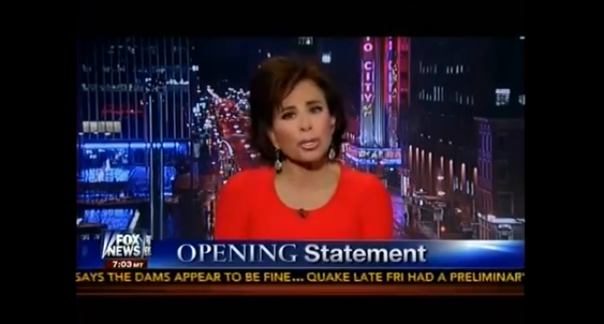 Judge Pirro Calls Out Obama On Latest Abuses Of Power: Obama Is A Dictator