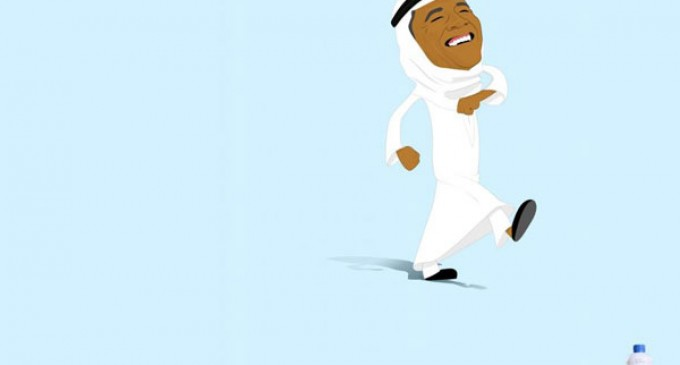 Ad Reveals Obama As Arab Sheikh