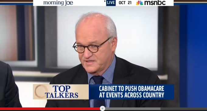 MSNBC: Obama Admin Is Lying About ObamaCare Enrollment Data