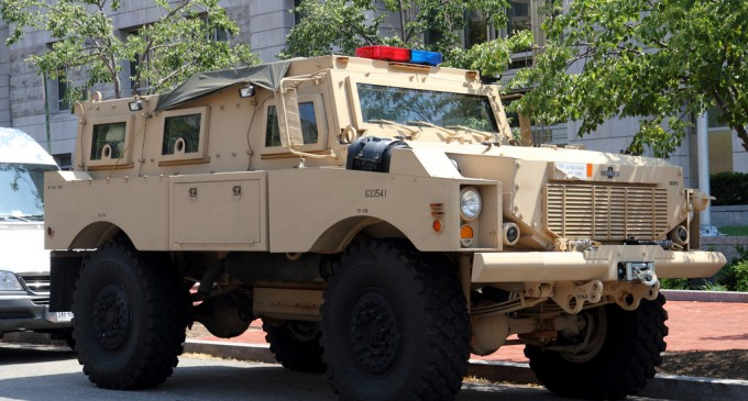 Utah Acquires Military Equipment, Including Armored Vehicles