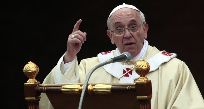 Pope Francis: Capitalism Is The New Tyranny