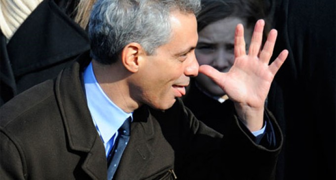 Rahm Emanuel Announces 23,000 Chicago Jobs Open To Illegals
