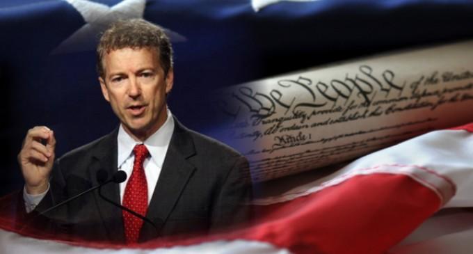 Rand Paul To Sue President Obama Through FreedomWorks Over NSA Spying