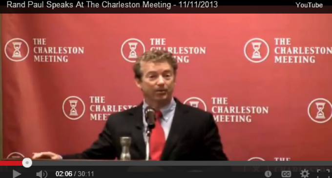 Rand Paul: Obama Wrote Regulation To Cancel Insurance Plans 3 Months After Obamacare Passes
