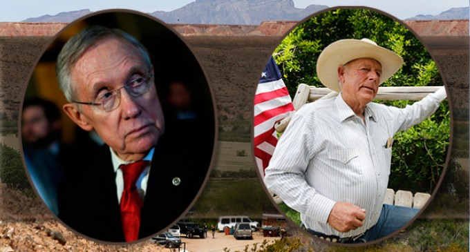 Harry Reid to Make Federal Land Grab Near Bundy Ranch