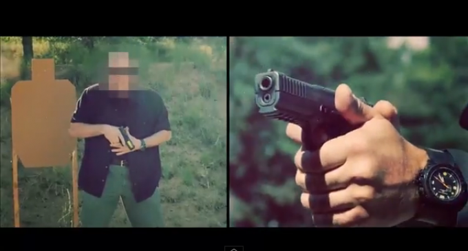Video Footage Of Crazy Russian Military Shooting Drills