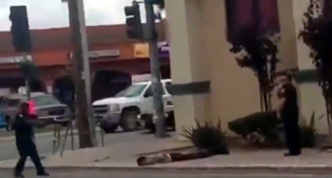 Protest Against Police Execution in CA – One Protestor Dead