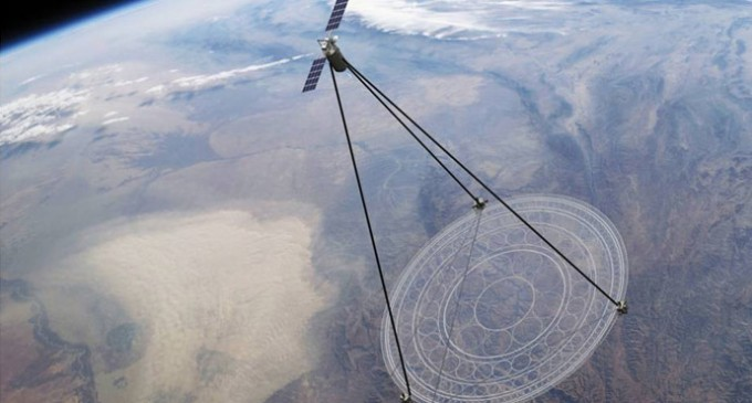 DARPA Create Enormous Eye-In-The-Sky That Can Surveil 40% Of The Earth
