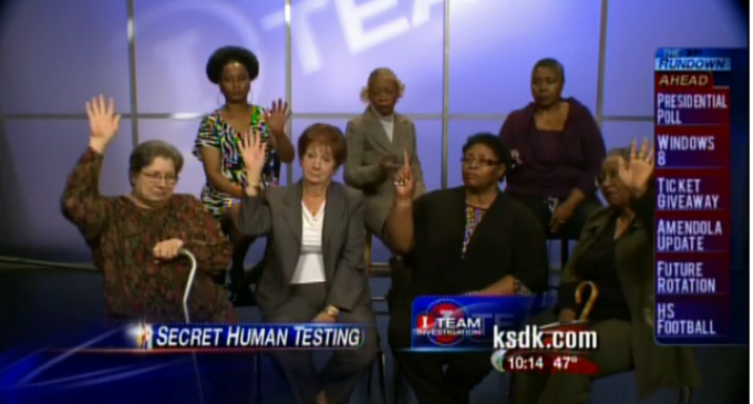 Government Secret Human Testing