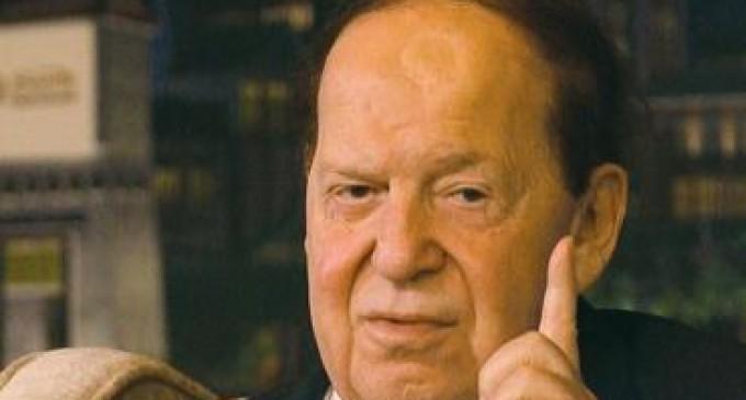 Billionaire Sheldon Adelson: US Should Drop An Atomic Bomb On Iran