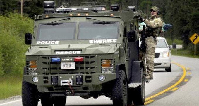 U.S. Sheriffs Rise Up Against Federal Government