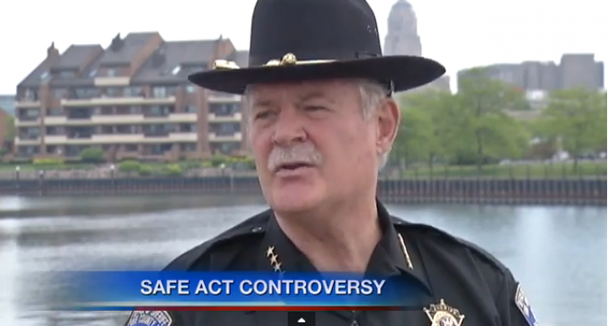 "Sheriff Defies Cuomo, Refuses To Enforce ""Safe Act"" Gun Control Legislation"