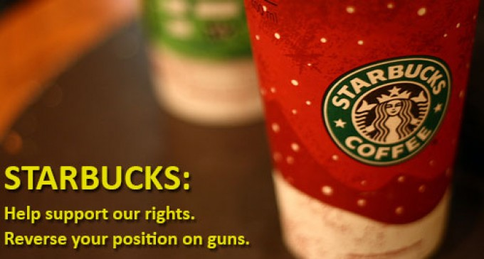 Starbucks reverses position, asks customers to leave guns at home