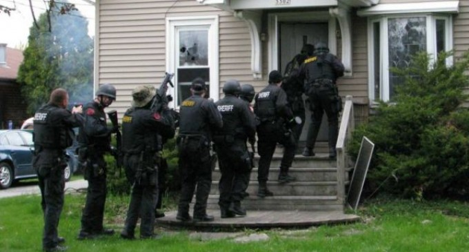 SWAT-like Teams To Invade Homes  Of Alleged Criminals If There Is A Legal Gun Owner
