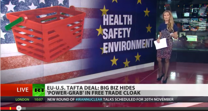 Corporations Can Sue Countries Under EU – US Tafta Deal