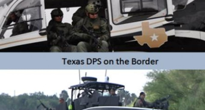Texas Moves To Secure Their Border Themselves With DPS Surge