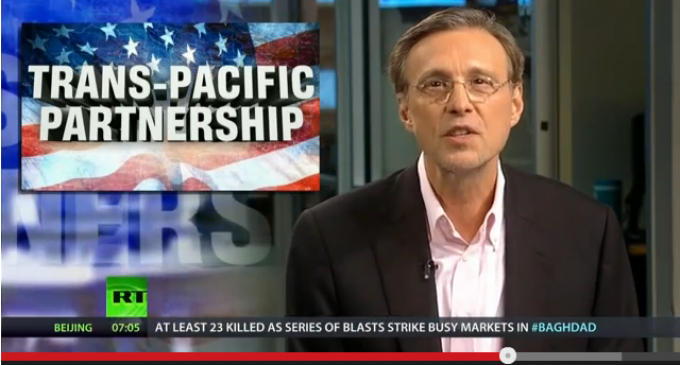 America's Fire Sale: Obama's Secret, Unconstitutional Trade Deal