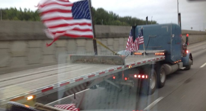 Trucker's Nationwide Ride For The Constitution
