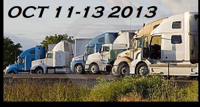 Truckers for the Constitution Coming This Weekend, Oct. 11th!