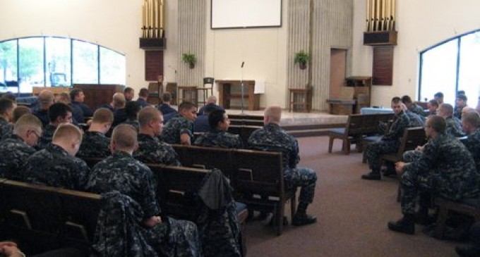 Obama Administration Locks Church Doors, Cancels Services on US Navy Base, Threatens Priests With Arrest