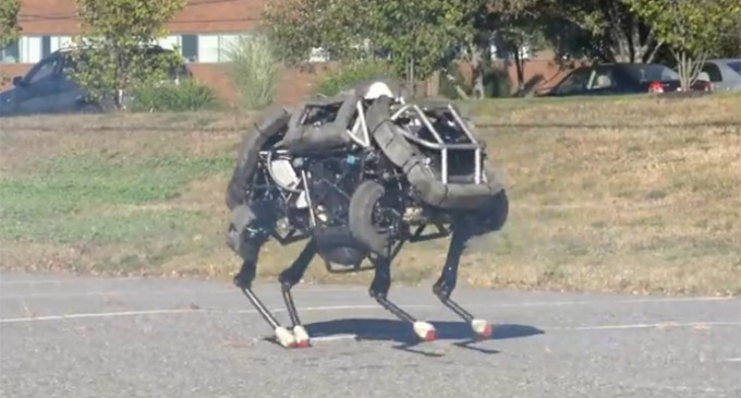 WildCat: Four-legged, DARPA-funded, Running War Robots – Coming To America?