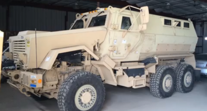 Wisconsin Sheriff States New Army Trucks Are For 'Protection'